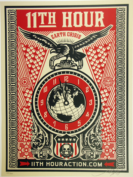 Shepard Fairey_obey 11TH HOURS