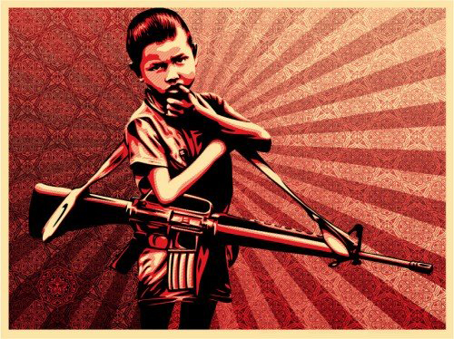 Shepard Fairey_obeyDuality_of_Humanity-_5