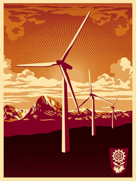 Shepard Fairey_obey Obey_Windmill_2009