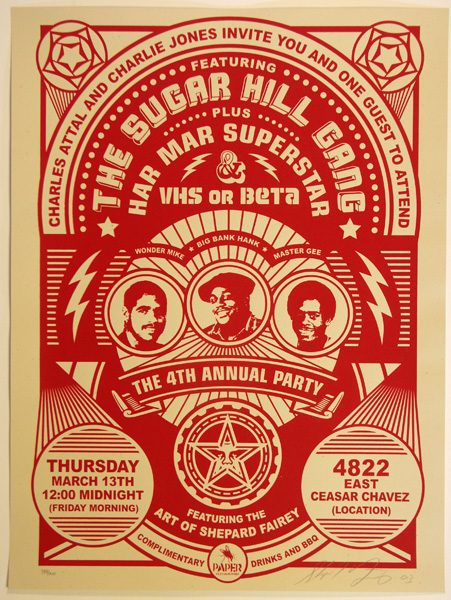 SHEPARD FAIREY OBEY SUGAR HILL GANG_ Kirk_Pedersen_projects