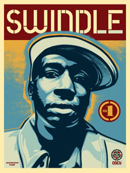 obey GIANT SWINDLE_ Kirk_Pedersen_projects