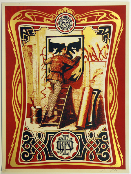 SHEPARD FAIREY OBEY VINTAGE PASTERS_ Kirk_Pedersen_projects