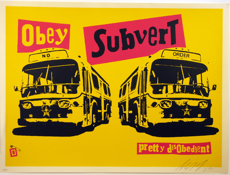 SHEPARD FAIREY obey subvert_ Kirk_Pedersen_projects